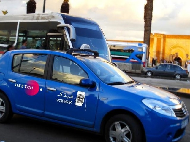 VTC: L'application de transport Heetch se met au bleu de Rabat