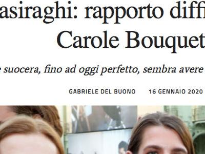 Charlotte Casiraghi, ça crise avec Carole Bouquet, l'étonnant aveu de l'actrice