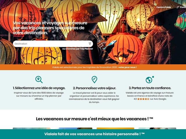 Sur-mesure : Vialala déploie sa V2 et son offre sur la France