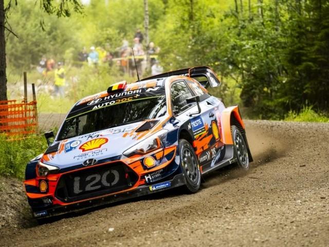 Rallye de Finlande: Thierry Neuville ouvre les hostilités