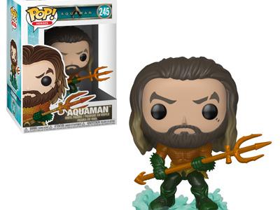 Aquaman : Une première vague de figurines Funko Pop !