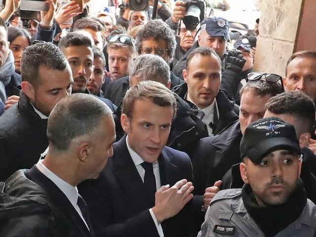 Accent, Jacques Chirac : l'accrochage d'Emmanuel Macron à Jérusalem vivement commenté