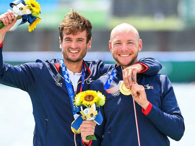 JO-2020/Aviron: Androdias et Boucheron, l'or olympique après les remous