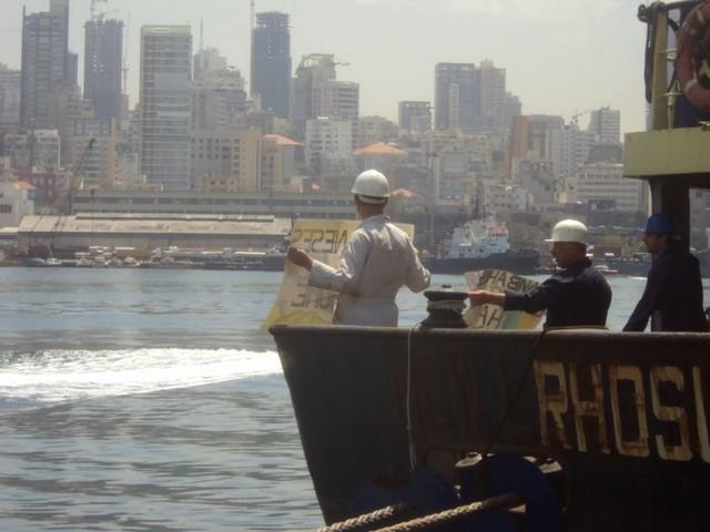 Liban: Le bateau incriminé ne devait pas aller à Beyrouth, dit son capitaine