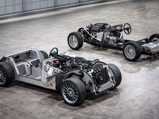 Morgan : un nouveau châssis en aluminium, première depuis 83 ans