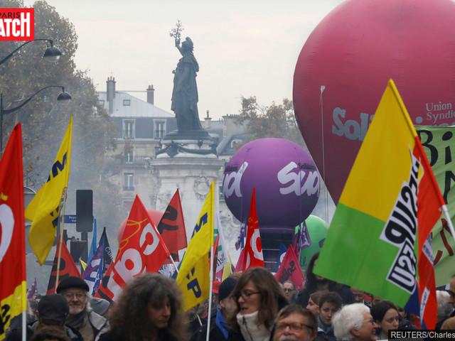 La quatrième manifestation contre la politique de Macron fait un flop