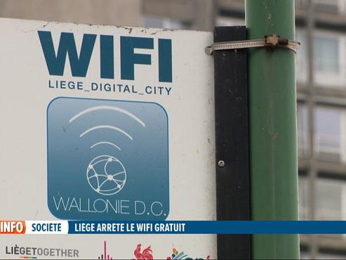 """Liège arrête le wifi gratuit: """"Le dispositif est sous-dimensionné et coûte trop cher"""" (vidéo)"""