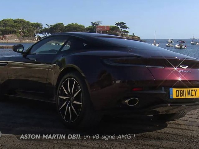 Aston Martin DB11, un V8 signé AMG - Emission TURBO du 12/11/2017
