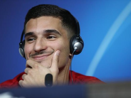 Foot - C1 - OL - Houssem Aouar, avant Lyon-Barça : «Nabil Fekir va beaucoup nous manquer»