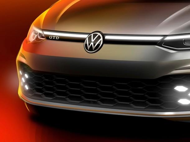 Salon de Genève 2020 : Volkswagen annonce la nouvelle Golf GTD