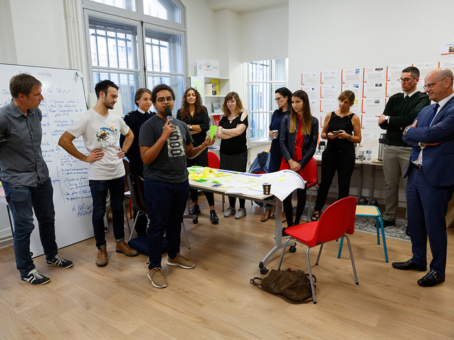 Hackaton Service national universel : échange avec les participants - actu en images