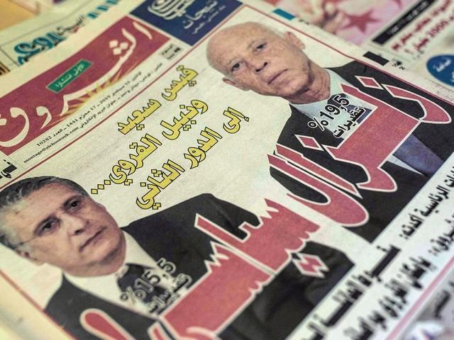 En Tunisie, Kais Saied et Nabil Karoui au deuxième tour de la présidentielle