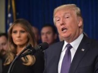 """Trump suggère au Sénat d'enquêter sur les médias qui diffusent de """"fausses informations"""""""