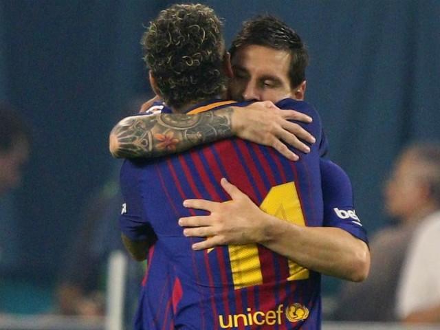 Retour de Neymar? Messi valide toujours