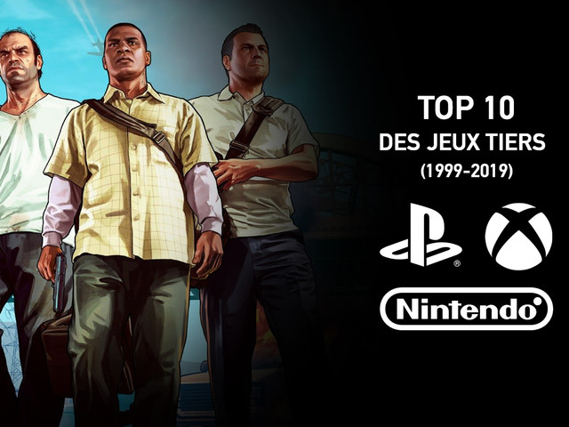 Voici les 10 jeux vidéo tiers les plus vendus des 20 dernières années