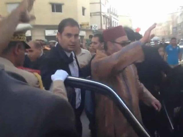 En prison pour s'être trop rapproché de la voiture du Roi Mohammed VI