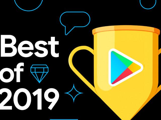 Google Playstore : voici les meilleurs jeux et applications de 2019