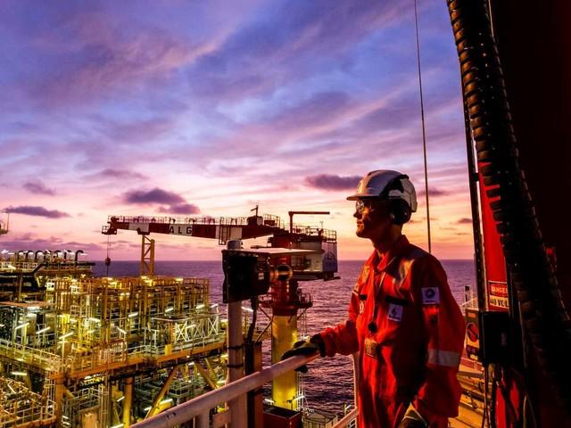 Vivre sur une plateforme pétrolière au large de l'Angola