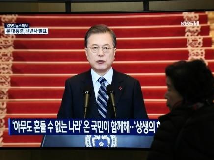 En pleine impasse diplomatique, Moon relance l'idée d'une visite de Kim à Séoul
