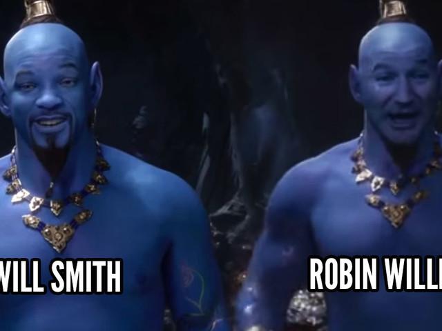 [Zone 42] Aladdin live : quand Robin Williams se retrouve à la place de Will Smith, le résultat est génial (vidéo)