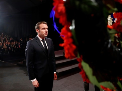 Macron dénonce les discours qui justifient la violence en France