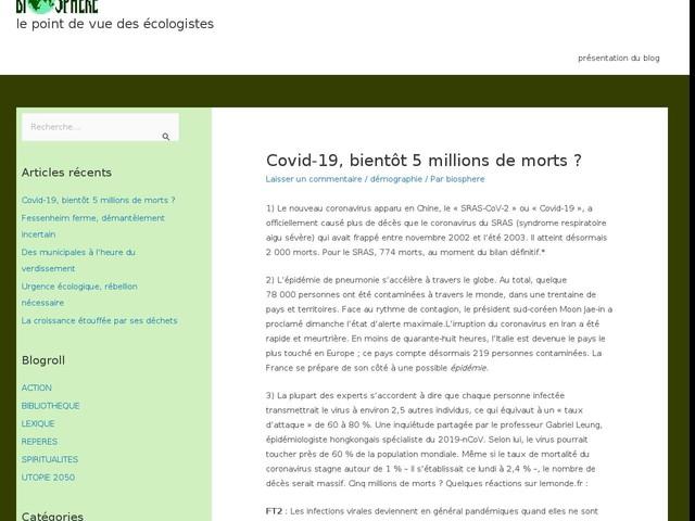 Covid-19, bientôt 5 millions de morts?