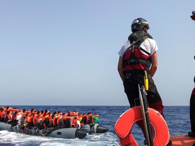 Migrants : l'Italie autorise l'Ocean Viking à débarquer à Lampedusa