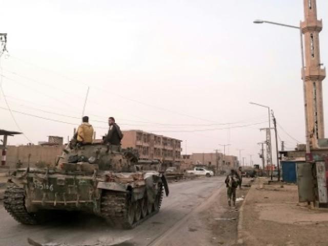 Syrie: l'EI reprend une partie d'une ville clé grâce à une vaste offensive