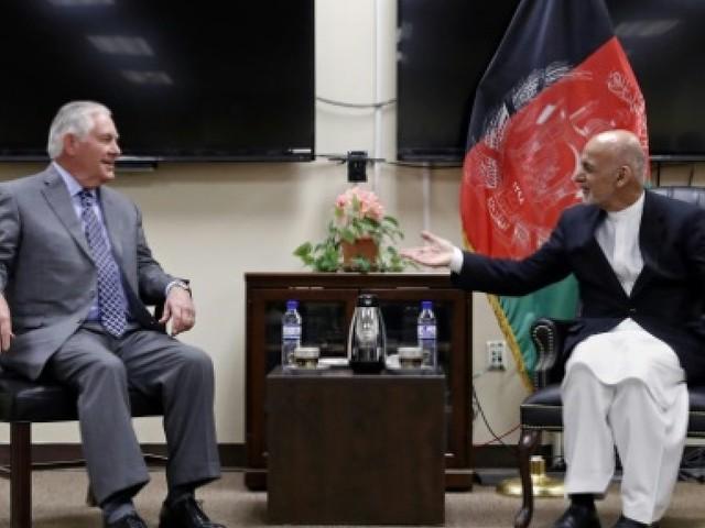 Afghanistan: première visite en catimini pour Rex Tillerson