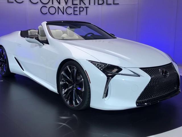 Salon de Détroit 2019 : présentation en vidéo du Concept Lexus LC Cabriolet
