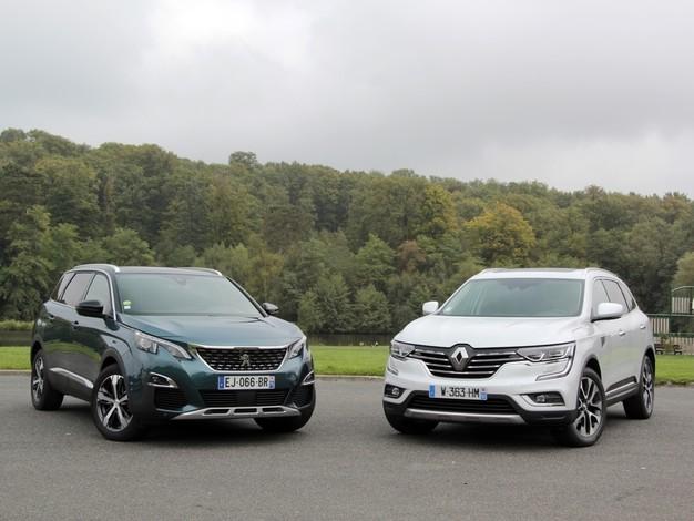 Comparatif vidéo - Peugeot 5008 (2017) vs Renault Koleos (2017) : confirmation ou affirmation ?