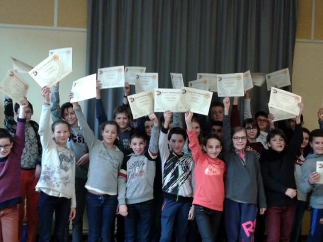 Saint-Sulpice. Concours Castor Informatique : les collégiens diplômés