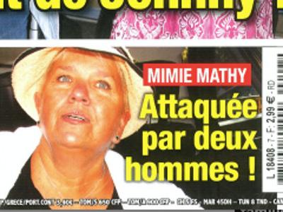 Mimie Mathy, drame, la star «agressée» par deux hommes