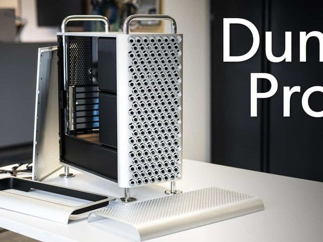 Avec le boîtier Dune Pro, votre PC ressemble à un Mac Pro