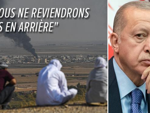Offensive turque en Syrie: Erdogan déterminé à poursuivre l'assaut