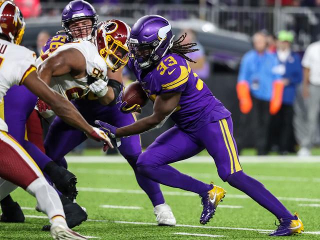 Les Vikings enfoncent les Redskins