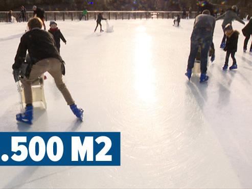 C'est du Belge: cette patinoire flottante est la plus grande d'Europe et fonctionne sans eau ni électricité