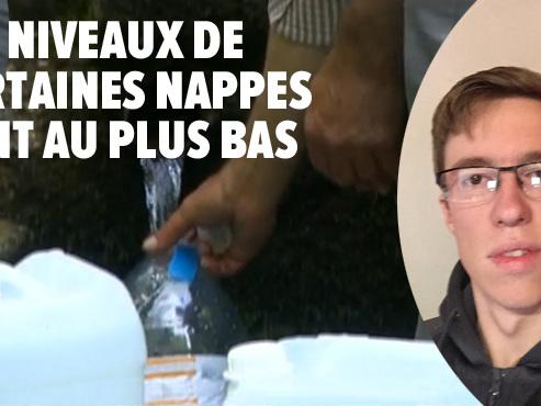 Romain s'inquiète de voir la source de Villers-le-Gambon à sec: risque-t-on à l'avenir de manquer d'eau en Wallonie?