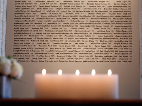 Avion abattu en Iran: presque toutes les victimes identifiées