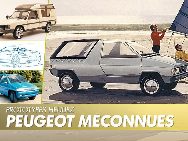 Prototypes Peugeot. Des projets insolites signés Heuliez