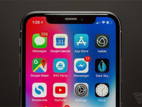 iPhone Xs : l'espace réservé à Face ID devrait être réduit, au profit du design