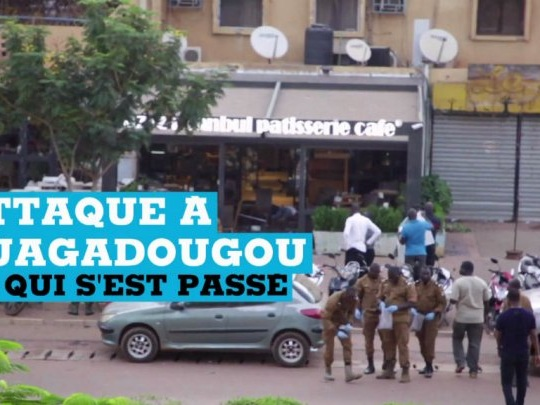 Retour en images sur l'attaque à Ouagadougou