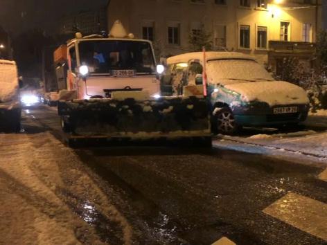 Fin de la vigilance orange neige et verglas dans le Rhône, des perturbations dans les transports