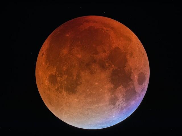 La dernière éclipse lunaire avant 2022, le 21 janvier à 4 h du matin