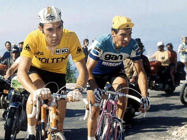 L'immense hommage de Merckx à Poulidor