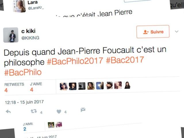 Au bac de philo 2017, des terminales S ont confondu Michel Foucault avec Jean-Pierre