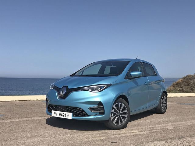 Toutes les photos de notre essai de la Renault Zoé 2