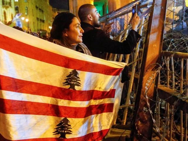 [Reportage] Liban: à Beyrouth, la détermination des manifestants ne faiblit pas