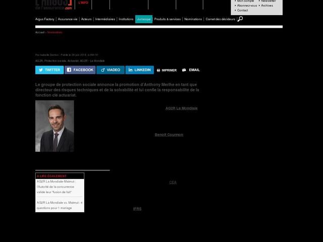 AG2R La Mondiale : Anthony Merlhe prend des nouvelles responsabilités