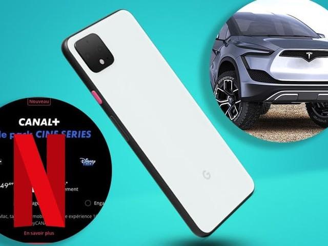 Canal+ intègre Netflix à son pack Ciné Séries, Elon Musk tease le pick-up de Tesla, Google présente les Pixel 4, le récap'